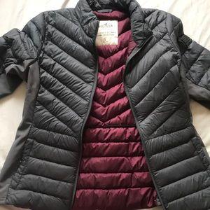 Hollister lightweight down jacket